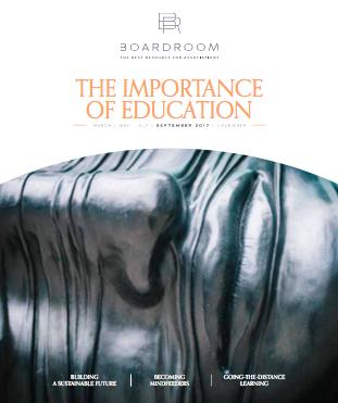 Boardroom #4 - September 2017-cover